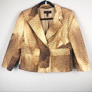 ESCADA animal ripple print blazer jacket
